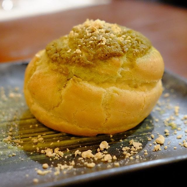 Matcha puff #perth #perthfood #perthfoodblogger #perthfoodblog #food #foodblogger #foodblog #foodstagram #yelpperth #foodie #perthisok #pertheats #urbanlistperth #tasteperth #fcba #atasteofperth #perthfoodie #ozeatingwa #morsels