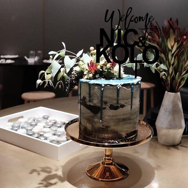 Beautiful cake from Marguerite Cakes at the launch of Nic & Kolo in Applecross! #invited #perth #perthfood #perthfoodblogger #perthfoodblog #food #foodblogger #foodblog #foodstagram #yelpperth #foodie #perthisok #pertheats #urbanlistperth #tasteperth #fcba #atasteofperth #perthfoodie #ozeatingwa #broadsheetperth #morsels