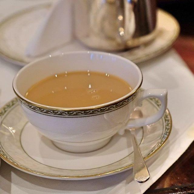 Tea at the Grand Hotel