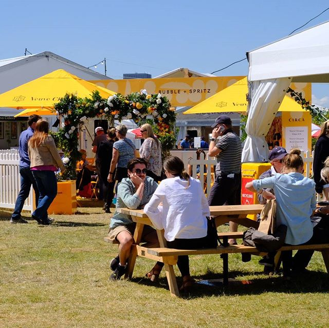 Such a glorious day at Taste of Melbourne! We couldn't have asked for better weather, although I don't think tomorrow attendees are going to be so lucky…