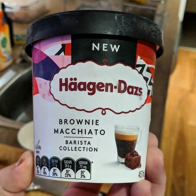 Haagen-Dazs Brownie Macchiato ice-cream