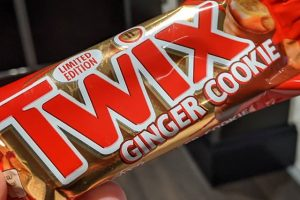 Twix Ginger Cookie