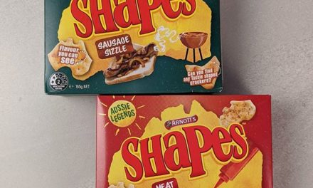"Here we have two new ""Aussie Legends"" flavours of Arnotts Shapes. The winner is definitely the Meat Pie, which offers the unmistakable smell of a pie when you open the bag. Texturally they are a bit like the crust of a burnt pie but you can't have everything… @arnottsbiscuits . As for the Sausage Sizzle, I wasn't a fan of these and found the heavy onion seasoning rather hard to get past. . #theshelflife #morsels #perth #perthfood #food #foodstagram #foodie #perthisok #pertheats #tasteperth #perthfoodie #perthfoodies #instagood #perthlife #feedmeau #perthfoodblogger #foodblogger #foodblog"