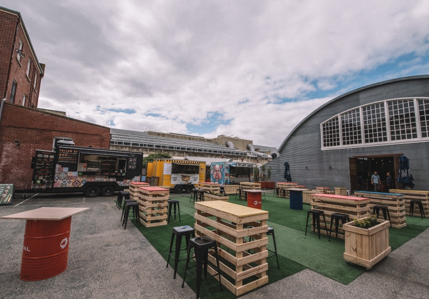 Perth Mess Hall, The City's First Permanent Food Truck Park, is Now Open