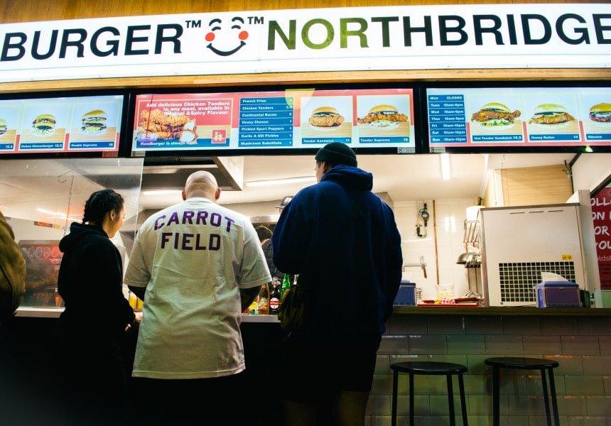 Hoodburger Opens in Northbridge